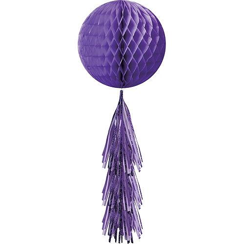 Purple Honeycomb Decorating Kit Image #5