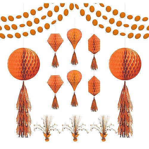 Orange Honeycomb Decorating Kit Image #1