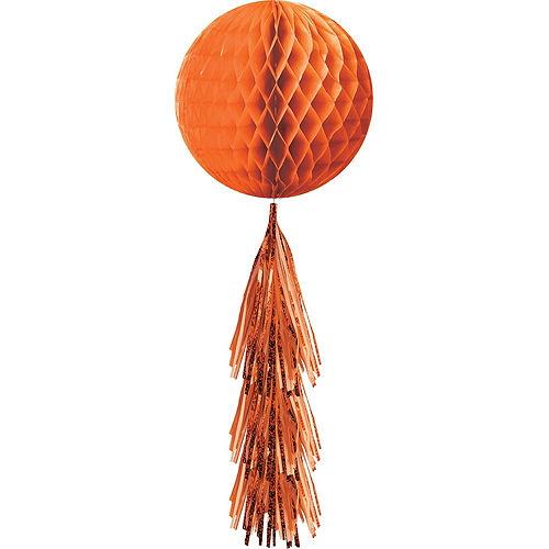 Orange Honeycomb Decorating Kit Image #5
