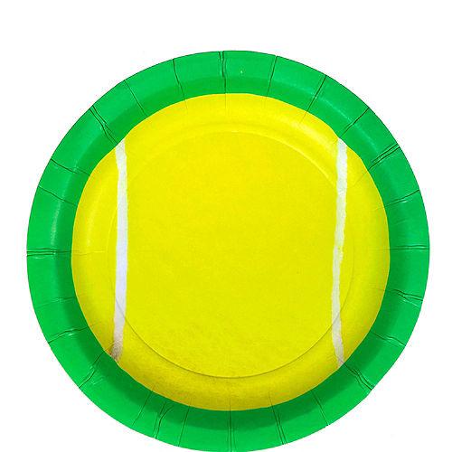 Tennis Ball Dessert Plates 8ct Image #1