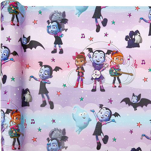 Vampirina Gift Wrap Image #1
