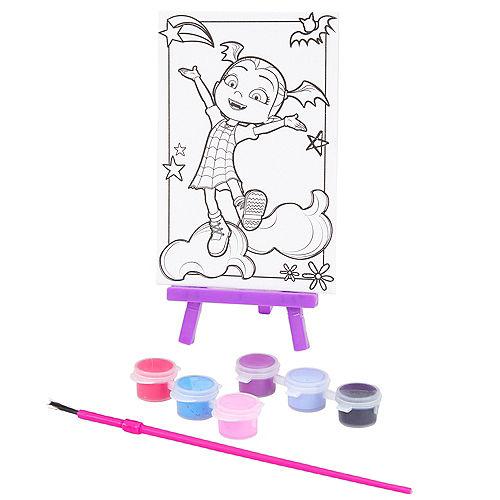 Vampirina Paint & Canvas Set 9pc Image #1