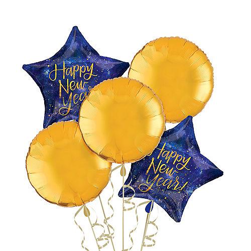 Midnight New Year's Eve Balloon Kit Image #1