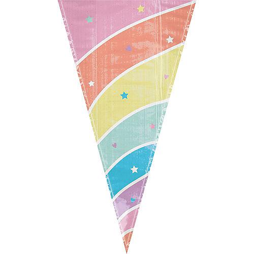 Magical Rainbow Unicorn Horn Treat Bags 15ct Image #1