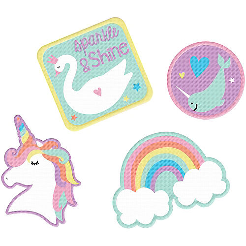 Magical Rainbow Patches 4ct Image #1