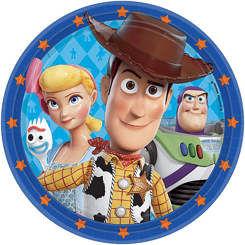 Toy Story 4 Lunch Plates 8ct Image #1