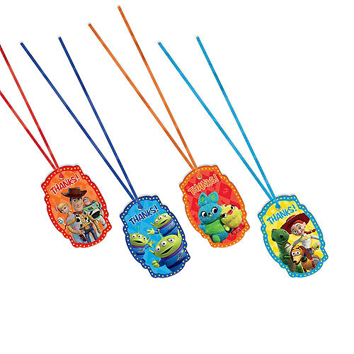 Toy Story 4 Thank You Tags 8ct Image #1