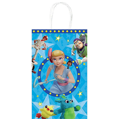 Toy Story 4 Kraft Bags 8ct Image #1