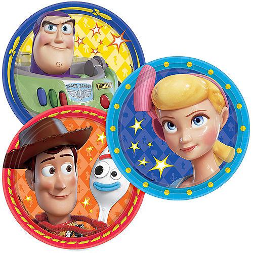 Toy Story 4 Dessert Plates 8ct Image #1