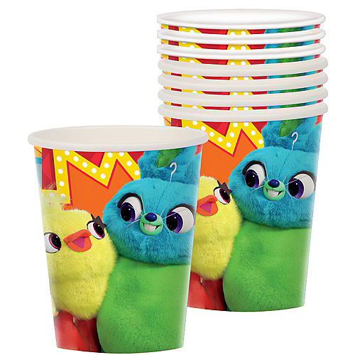 Toy Story 4 Cups 8ct Image #1