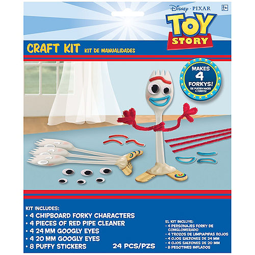 Toy Story 4 Craft Kit for 4 Image #1