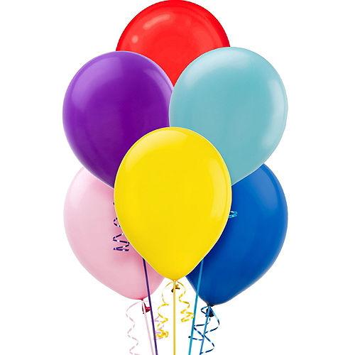 Balloon Time Large Helium Tank with 30 Balloons, Ribbon & Hi-Float Image #4