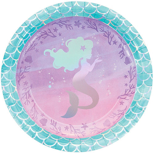 Shimmer Mermaid Basic Party Kit for 8 Guests Image #3