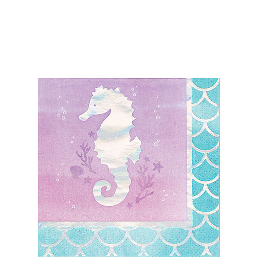 Shimmer Mermaid Ultimate Party Kit for 16 Guests Image #4