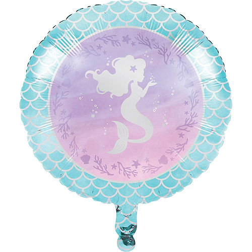 Shimmer Mermaid Balloon Kit Image #3