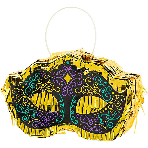 Mini Masquerade Mask Pinata Decoration Image #1