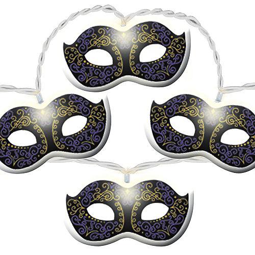 Masquerade Mask LED String Lights Image #1