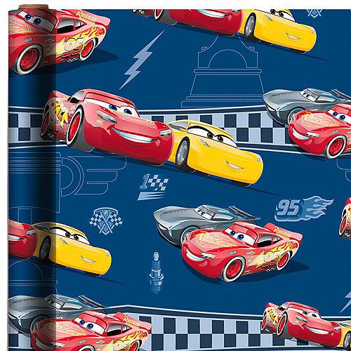 Lightning McQueen & Cruz Ramirez Gift Wrap - Cars 3 Image #1