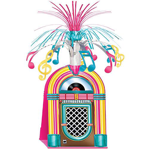 Rock 'n' Roll 50s Jukebox Cascade Centerpiece Image #1