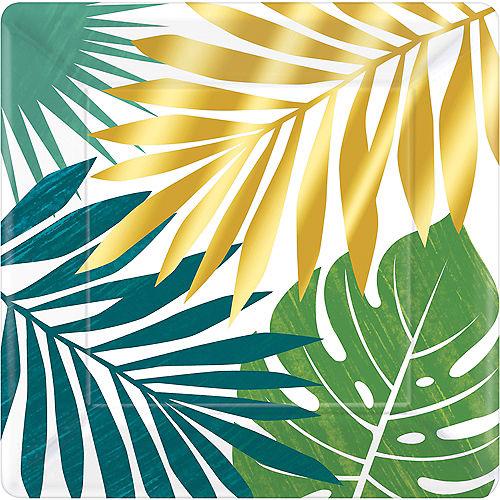 Key West Palm Leaf Dinner Plates 8ct Image #1