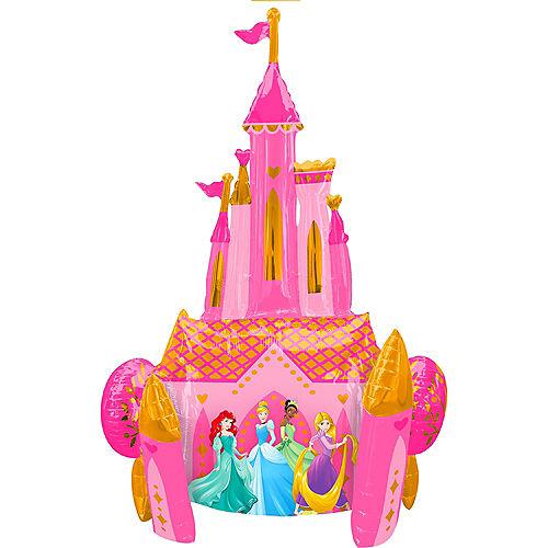 Giant Gliding Disney Princess Castle Balloon Image #2