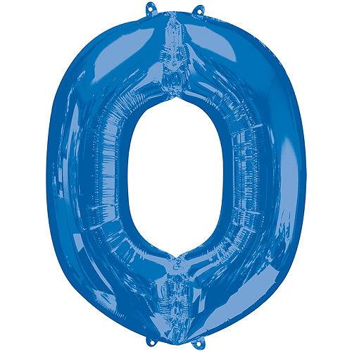 Giant Blue Love Letter Balloon Kit Image #5