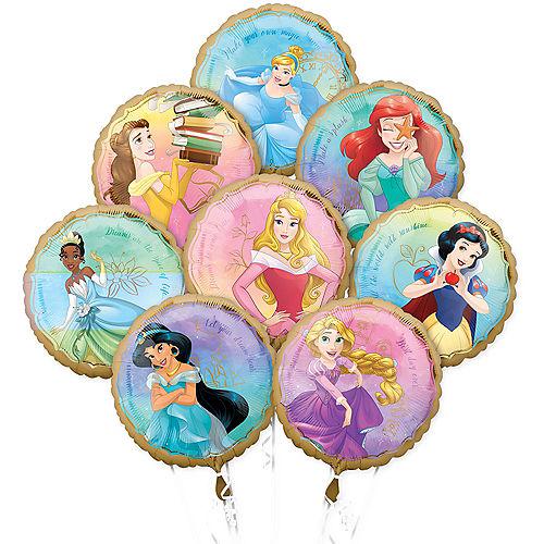 Disney Princess Balloon Bouquet 8pc Image #1