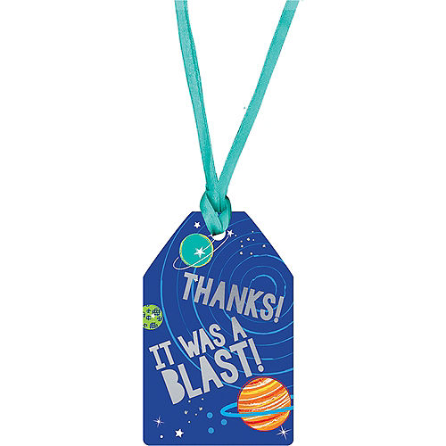 Blast Off Thank You Tags 25ct Image #1