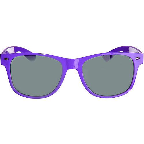 Classic Purple Frame Sunglasses Image #1