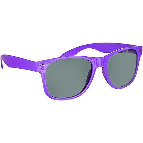 Classic Purple Frame Sunglasses Image #2