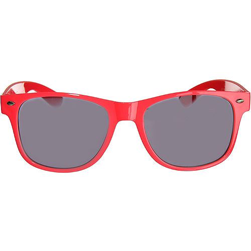 Classic Red Frame Sunglasses Image #1