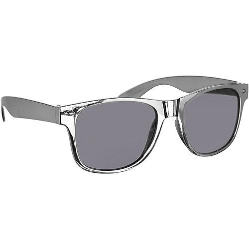 Classic Metallic Silver Frame Sunglasses Image #2