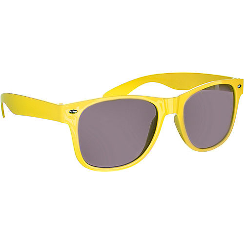 Classic Yellow Frame Sunglasses Image #2