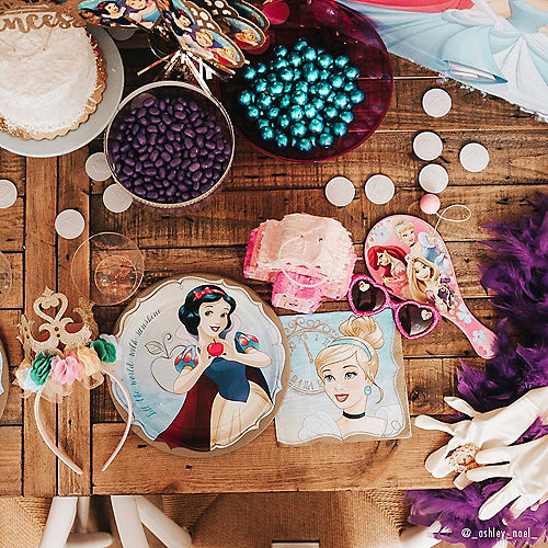 Princess Cinderella Lunch Napkins 16ct Image #2