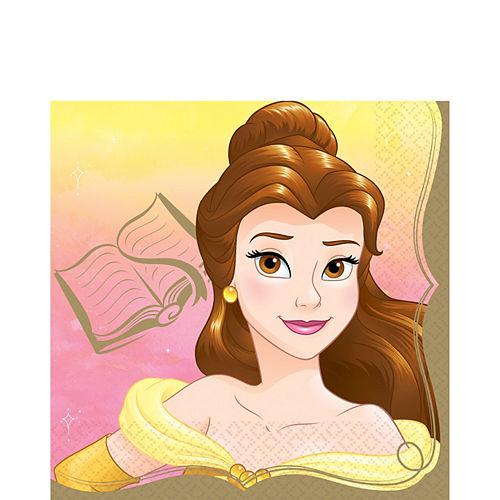 Princess Belle Lunch Napkins 16ct Image #1