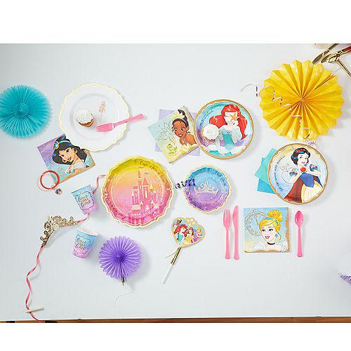 Princess Ariel Lunch Plates 8ct Image #2