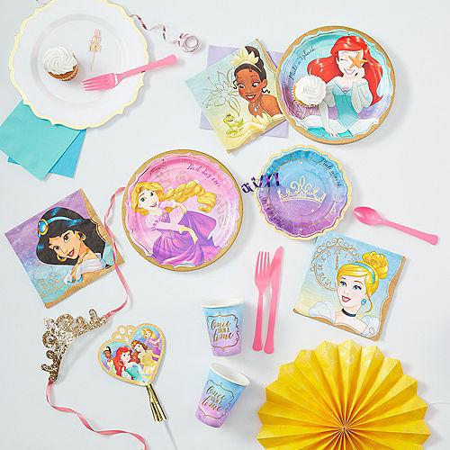 Princess Ariel Lunch Plates 8ct Image #3