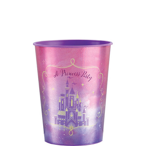 Metallic Disney Once Upon a Time Favor Cup Image #1