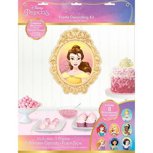 Glitter Disney Once Upon a Time Princess Portrait Kit 9pc Image #1