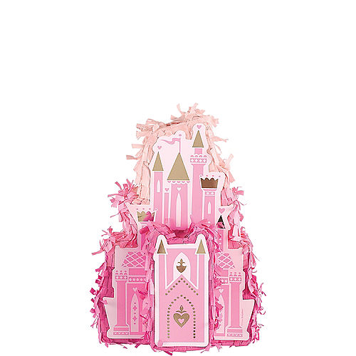 Mini Disney Once Upon a Time Castle Pinata Decoration Image #1