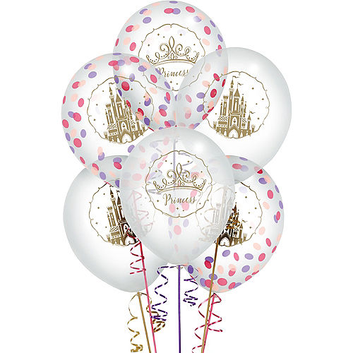 Disney Once Upon a Time Confetti Balloons 6ct Image #1