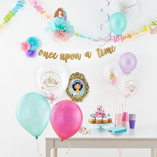 Disney Once Upon a Time Confetti Balloons 6ct Image #2