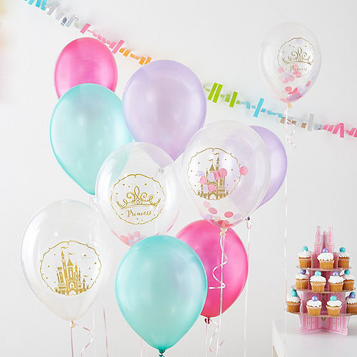 Disney Once Upon a Time Confetti Balloons 6ct Image #4