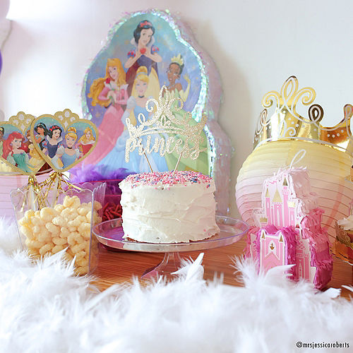 Glitter Disney Once Upon a Time Princess Cake Topper Image #2