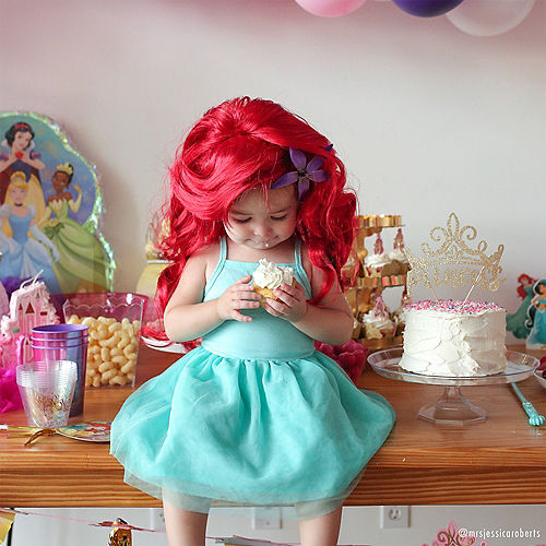 Glitter Disney Once Upon a Time Princess Cake Topper Image #4