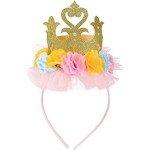 Disney Once Upon a Time Floral Crown Headband Image #1