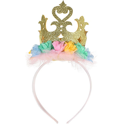 Disney Once Upon a Time Floral Crown Headband Image #2