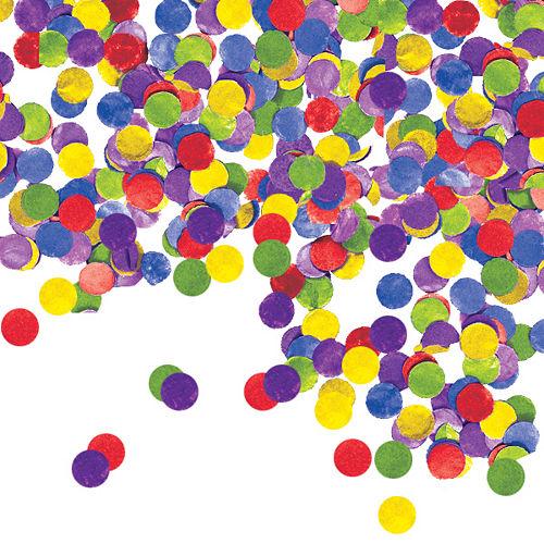 Multicolor Dots Tissue Paper Confetti Image #1