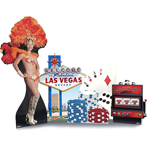 Las Vegas Standee Set 5pc Image #1