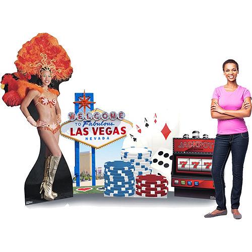 Las Vegas Standee Set 5pc Image #2